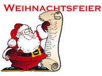 Einladung Weihnachtsfeier Verein.Einladung Zur Vereinsweihnachtsfeier Am 19 12 2015 Wtw